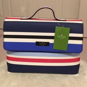 Kate Spade laurel way printed beauty case
